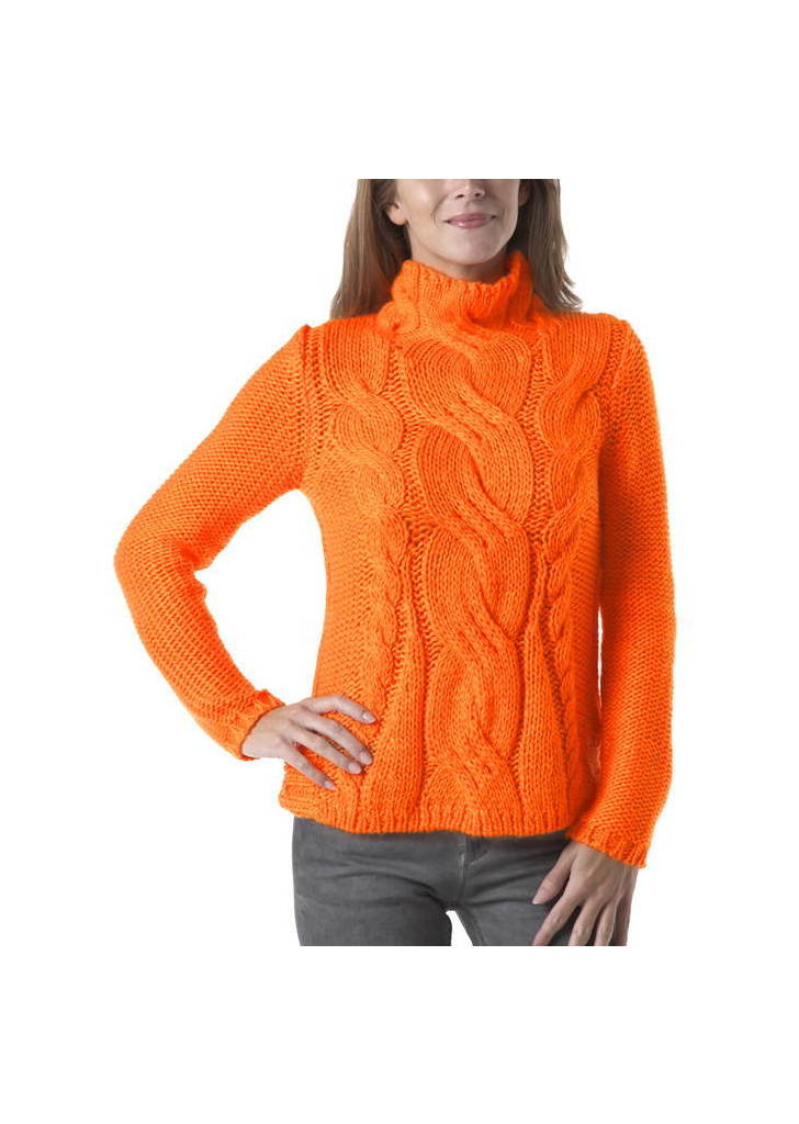c06f3f45f5 Promod élénk narancs pulóver, 45€