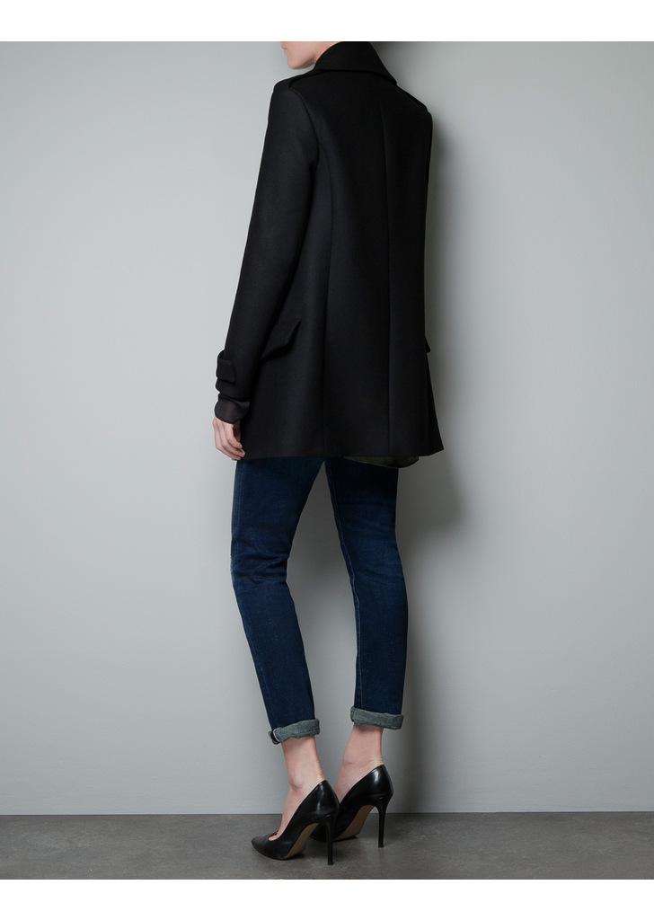 Zara fekete military kabát · Zara fekete military kabát ... 1290425402