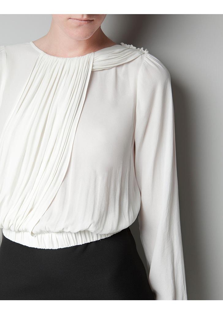 d8f86fa4fe Zara fekete-fehér ruha, 13 995 Ft