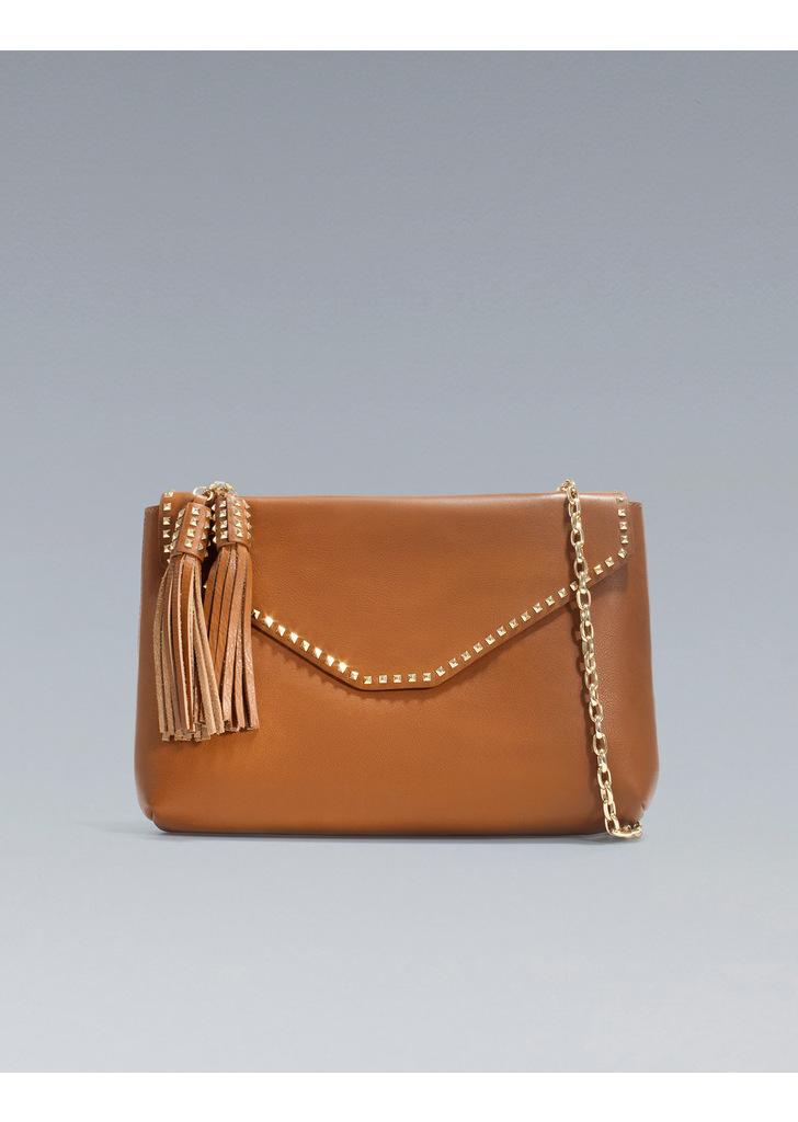 dab740a22cbb Zara láncos szegecses táska, 24 995 Ft