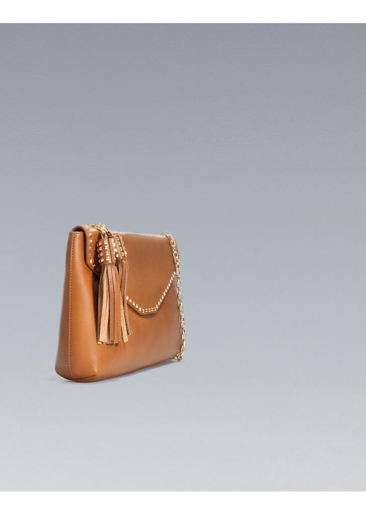 bc8304dbafd4 Zara láncos szegecses táska · Zara láncos szegecses táska ...