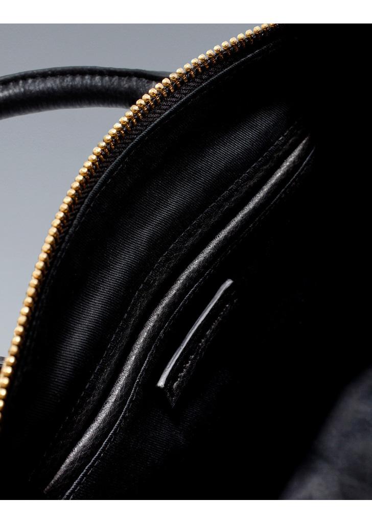 ddc17ffe055f Zara fekete cipzáras táska, 35 995 Ft