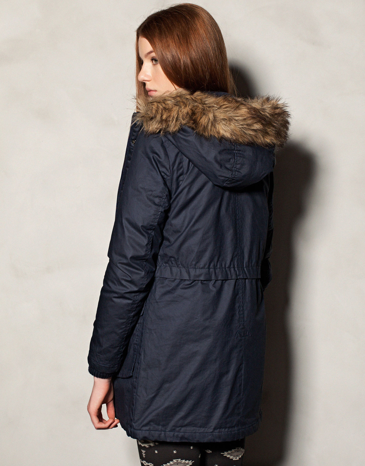 Pull and Bear kapucnis parka 2012 fotója