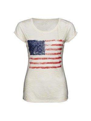 a1481204fb New Yorker - Fishbone Sister női amerika mintás póló - New Yorker, 3