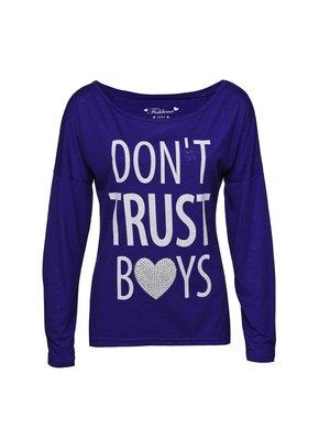 c948695575 New Yorker - Fishbone Sister női Don't Trust Boys póló - New