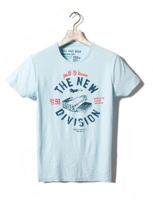 Pull and Bear New Division t-shirt