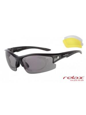 Relax fekete szemüveg divatos napszemüveg - Gimpex Sport 697741d043