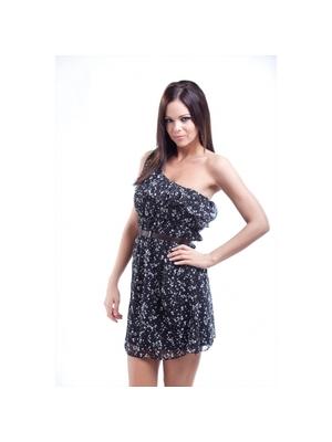fashionfactory.hu fekete női ruházat övvel ruha - fashionfactory.hu d10b498bff