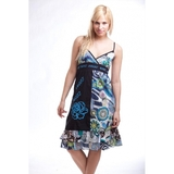 fashionfactory.hu kék női pántos ruha ruha - fashionfactory.hu dbafcece59