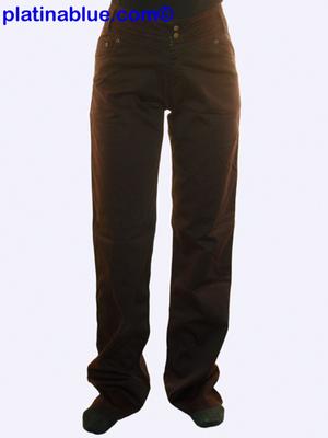 Quelle hímzett egyenes szárú ruházat nadrág - Platinablue 5bba2c75ad