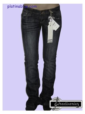 Stradivarius női egyenes szárú nadrág - Platinablue c15366adf9
