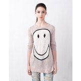 Pull and Bear smiley pulóver