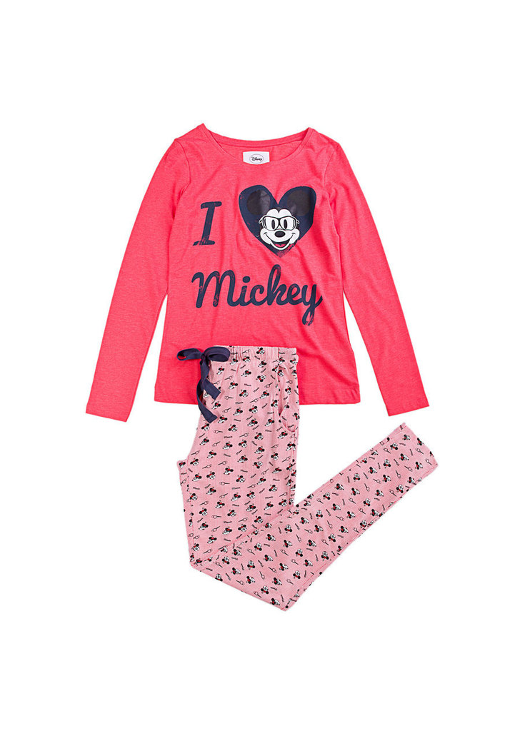 Women  Secret hosszú Mickey egeres pizsama ... b9a839a090