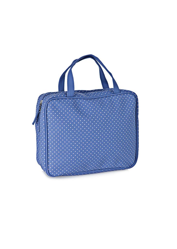 61b02cf1bc4a Women' Secret pöttyös kék kozmetikai táska, 20€