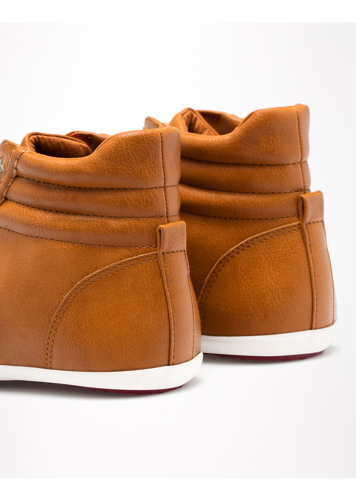 5c29942015 Bershka barna bőr tornacipő · Bershka barna bőr tornacipő ...