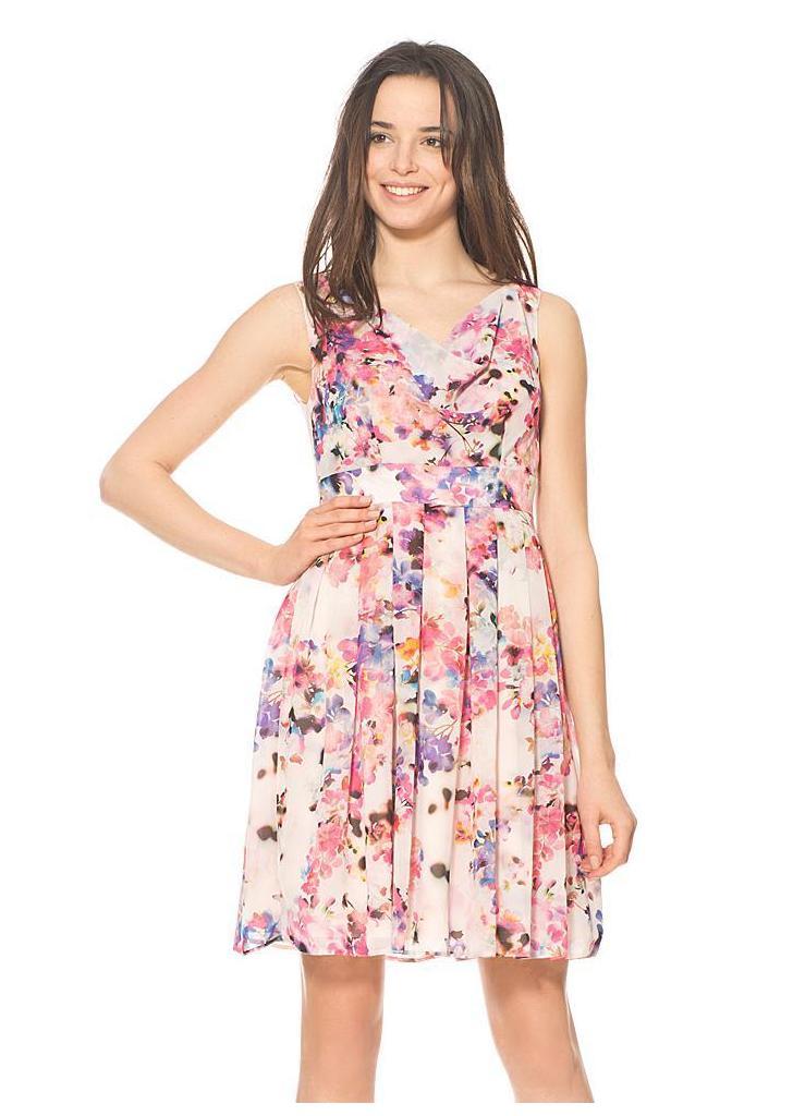 Orsay virágmintás rakott ruha ... eedbf937bd