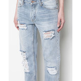 Pull and Bear szakadt boyfriend jeans