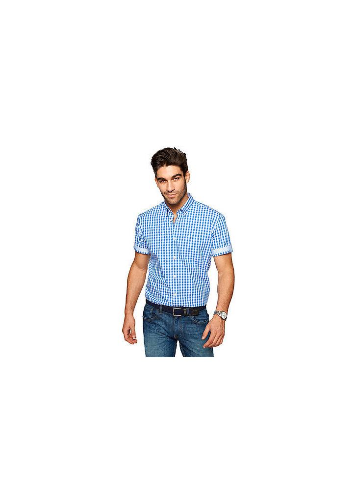Tom Tailor kék kockás ing ... e91c87bb9d