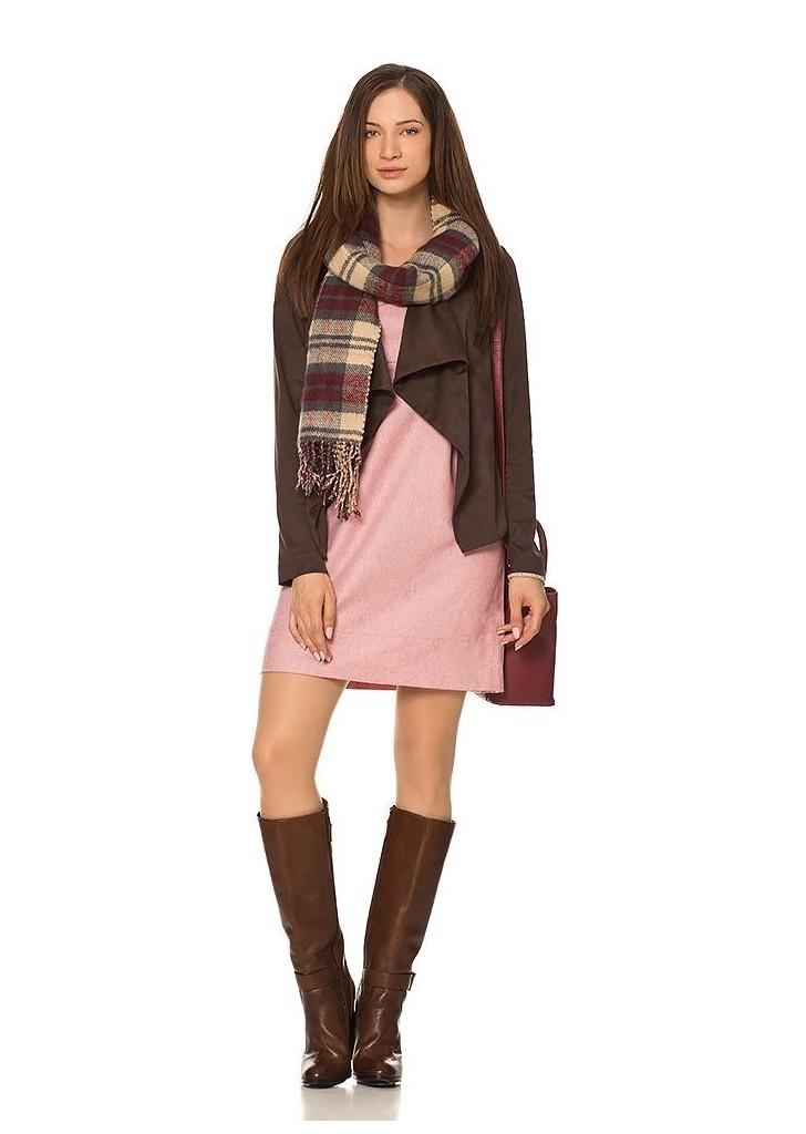 5947975f6d Orsay női barna lezser hasított bőr dzseki, 35€   2015
