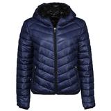 New Yorker női kék steppelt kabát 913e04dc96