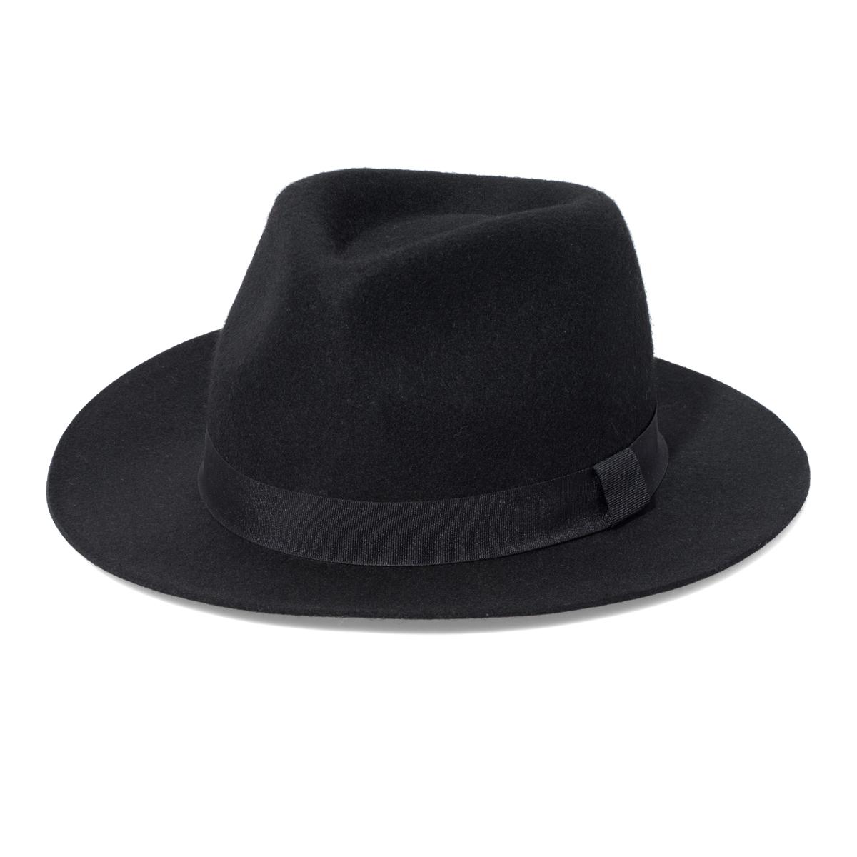 New Yorker divatos férfi fekete kalap kép 16bdd11d72