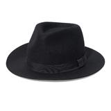 New Yorker divatos férfi fekete kalap 9e2503a841