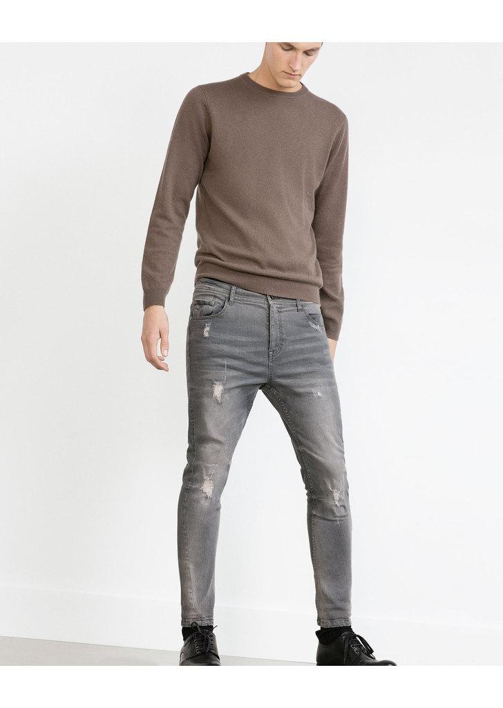616a2d055c Zara férfi kék skinny szaggatott farmer, 9 995 Ft | 2015