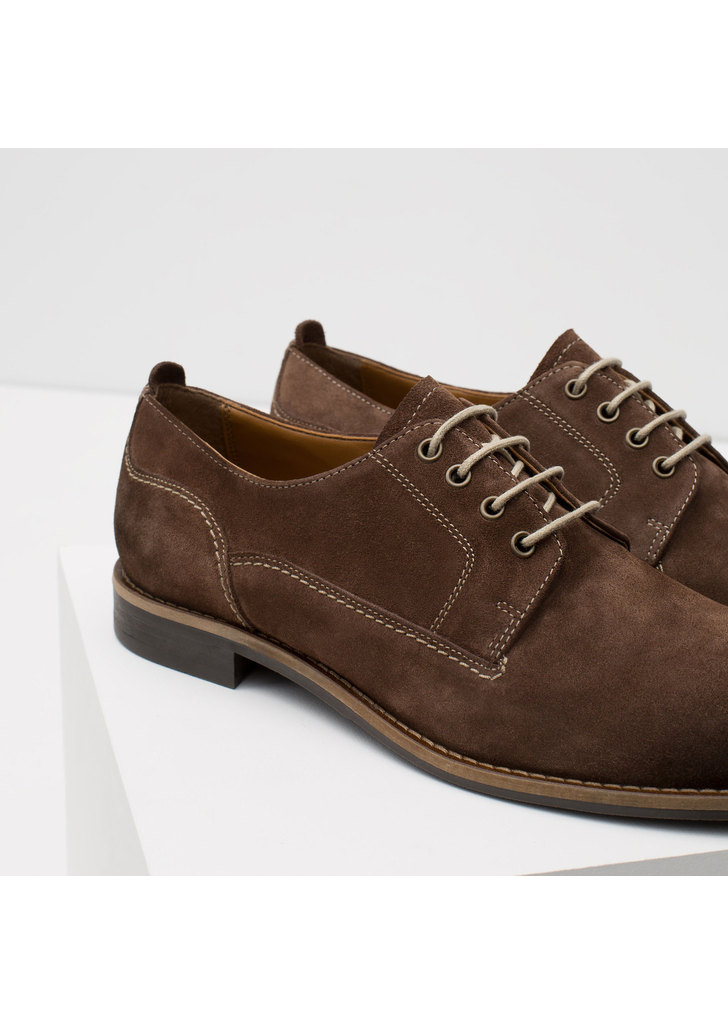 ... Zara barna férfi velúr cipő bfced25981