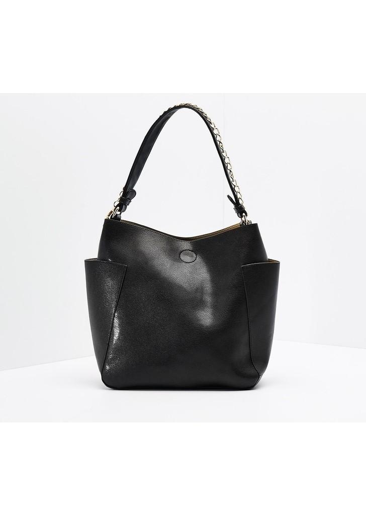 Reserved fekete táska levehető lánccal ... a98f366645