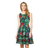 Orsay virágos térdig érő ruha 81cad5e71a