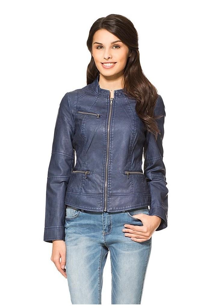 Orsay női bőr koptatott motoros dzseki, 45€   2015