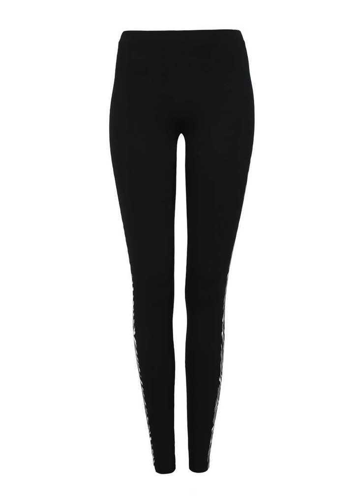 5f997cd599 Tally Weijl fekete leggings zebra csíkokkal az oldalán, 13€ | 2015