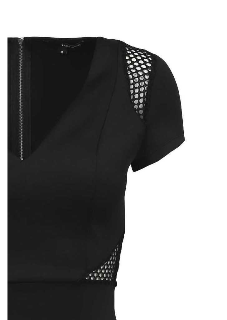 5284ed885 Tally Weijl fekete szűk itt-ott hálós ruha, 26€ | 2015