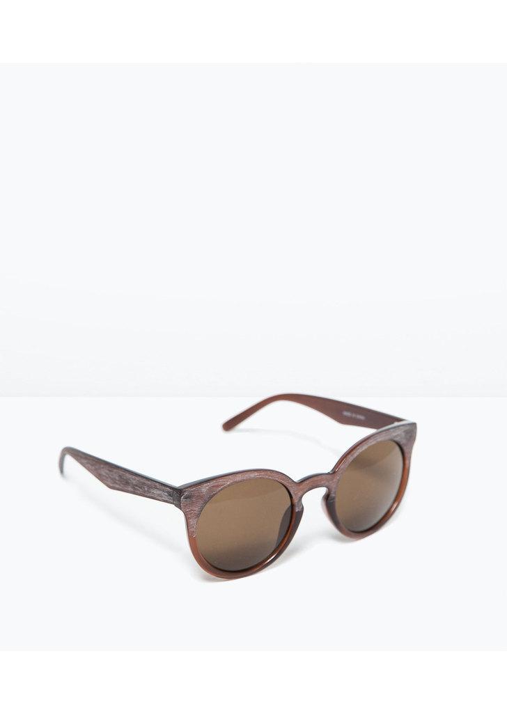 Zara fahatású kerek napszemüveg ... 84bec1a3f7