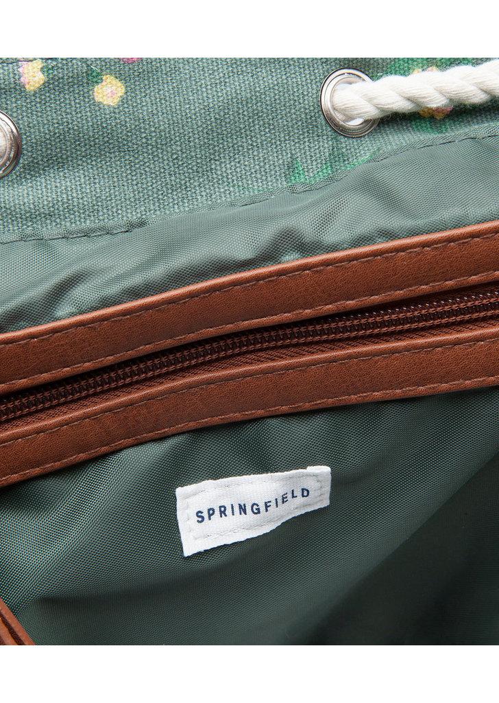 Springfield divatos virágmintás hátizsák ... 617ea67bd9