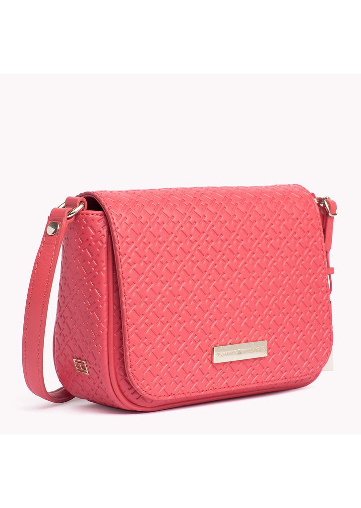 ... Tommy Hilfiger női korall színű táska ... 36f2ab604d