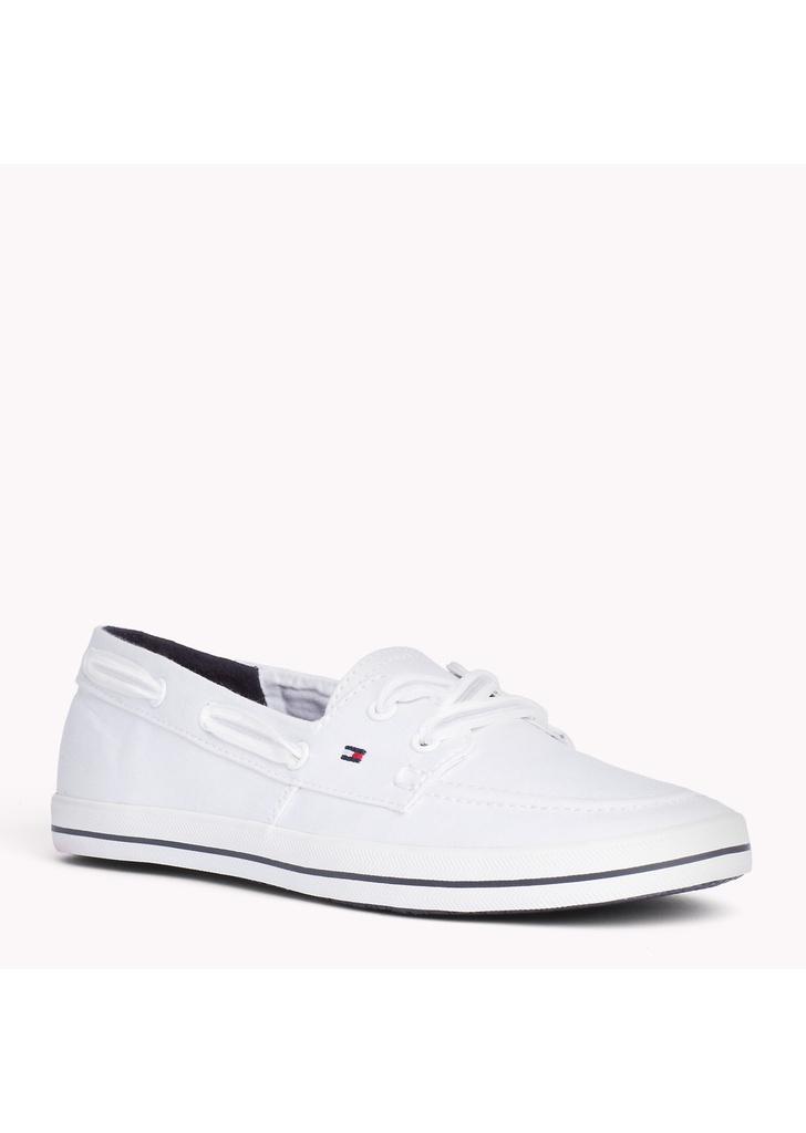 Tommy Hilfiger női fehér vitorlás cipő - Tommy Hilfiger ff07f98b42