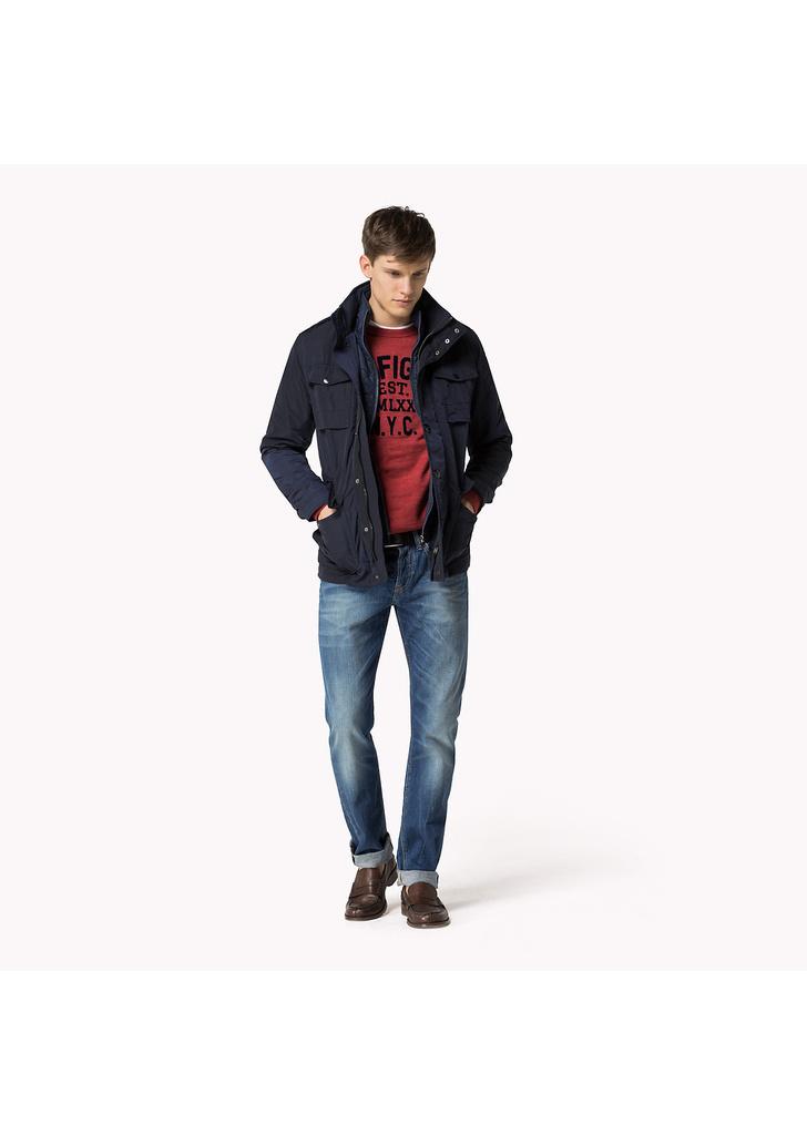 d4822437c1 Tommy Hilfiger cool férfi kék dzseki, 329€ | 2015