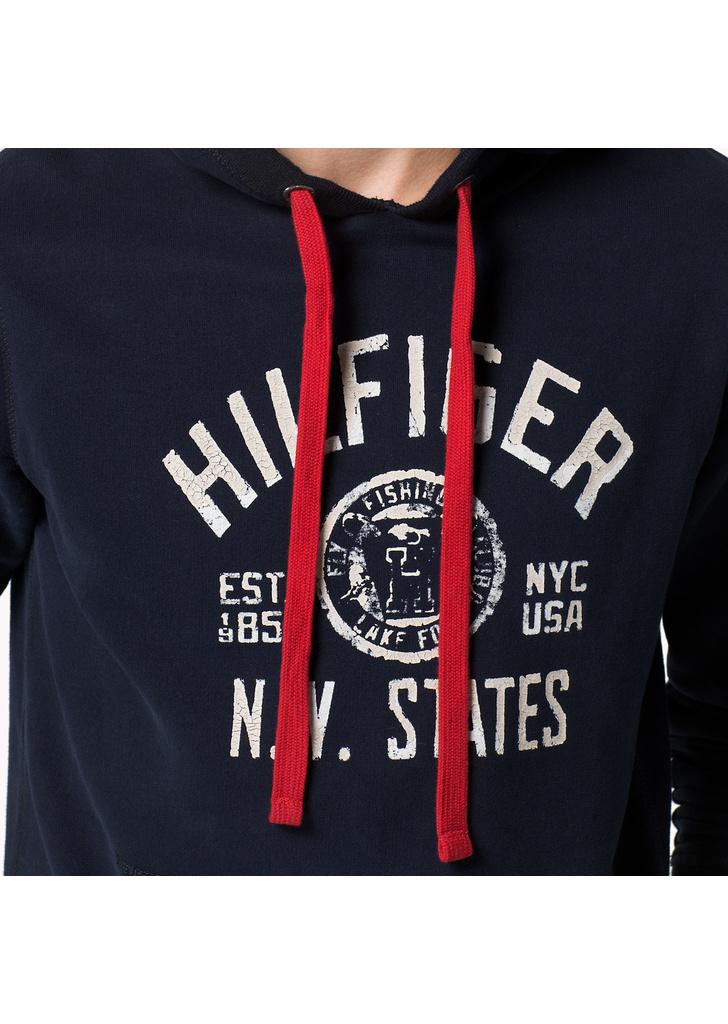 0ba38183cb Tommy Hilfiger férfi zöld kapucnis meleg márkalogós kapucnis pulóver,