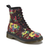 Dr. Martens Hawaii mintás bordó bakancs