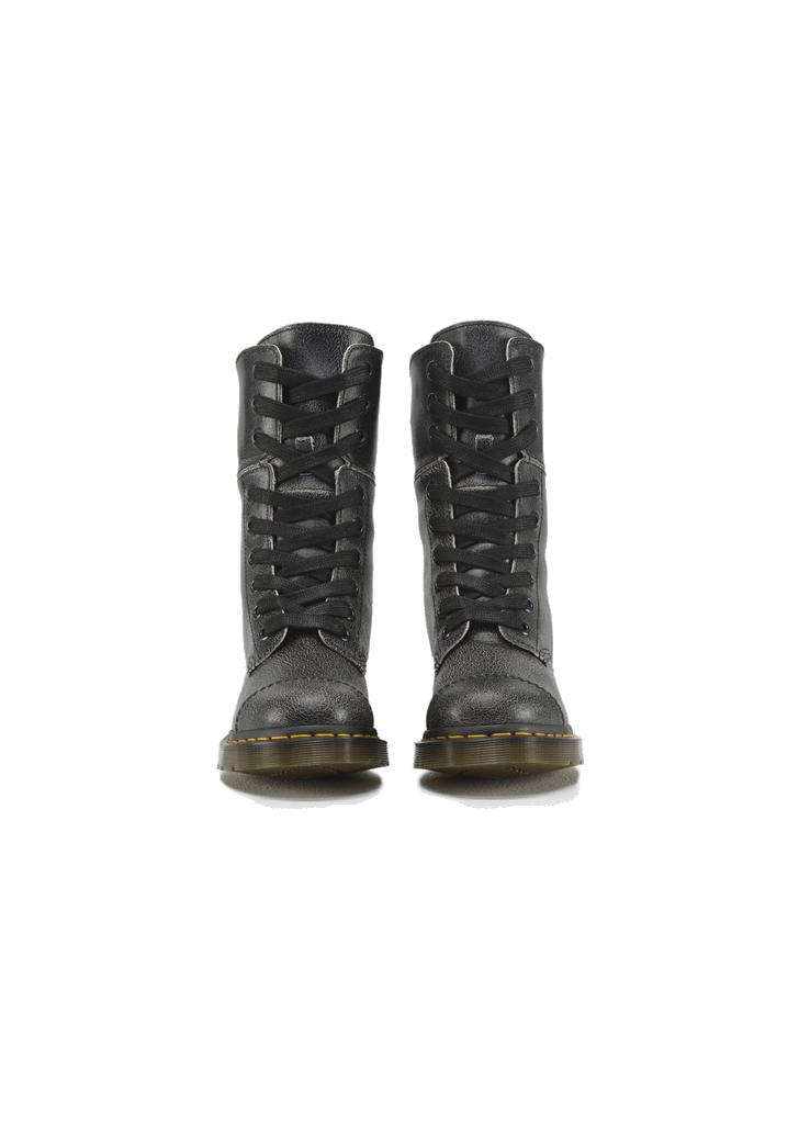 2f5ca4c5f6 Dr. Martens fekete női Aimilita bőr bakancs, 120£ | 2015
