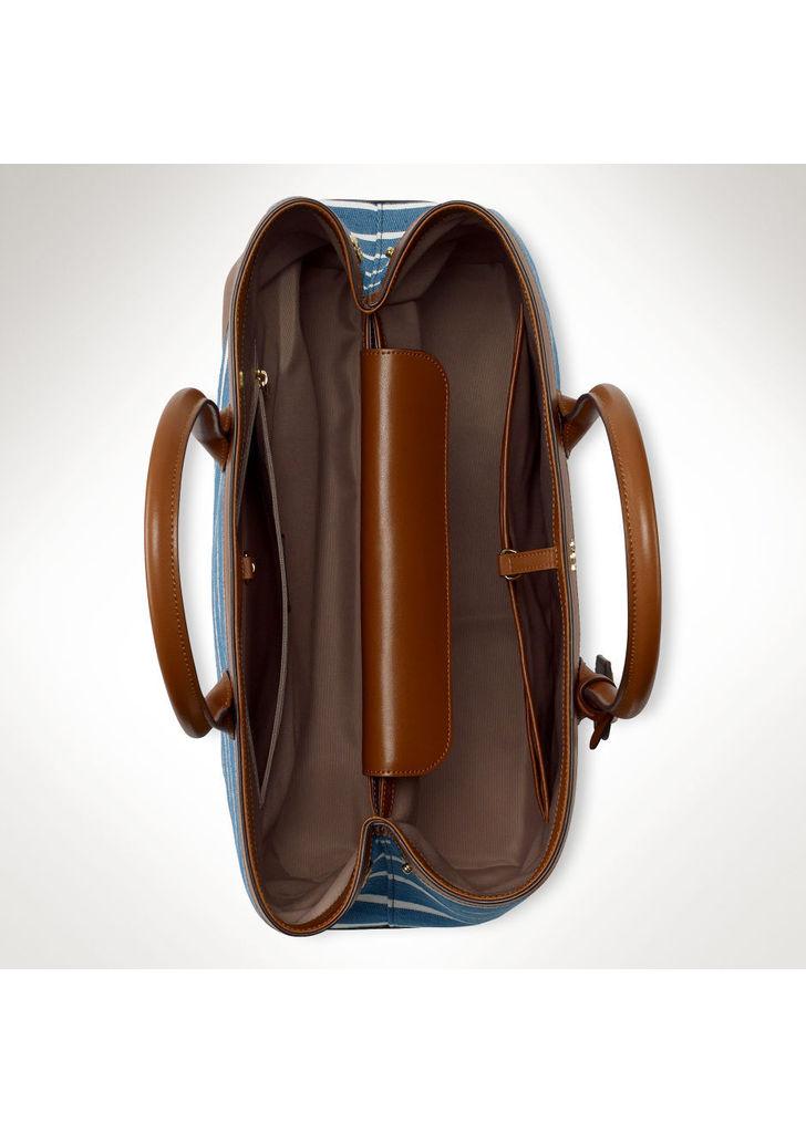 7d699d226a Ralph Lauren csíkos vászon bevásárló táska, 268$   2015