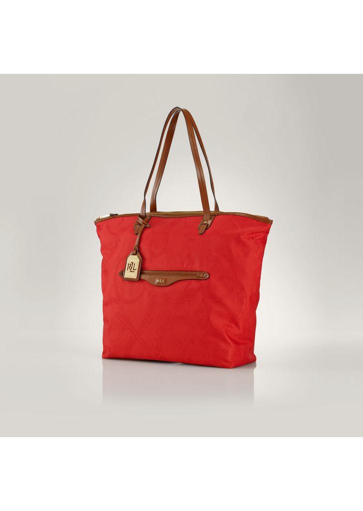 28e0b2a128 Ralph Lauren piros bőr lovas táska, 148$   2015
