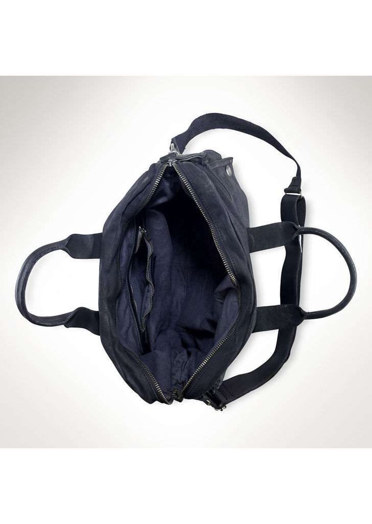 3db7031f57 Ralph Lauren vászon-bőr futár táska, 595$   2015
