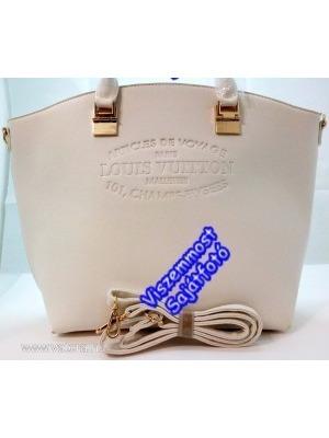 e46b84e283 LV Louis Vuitton FEHÉR Nagy táska Nyomott Díszítéssel! Kézi-válltáska! 2017  AKCIÓÓÓÓÓÓ!
