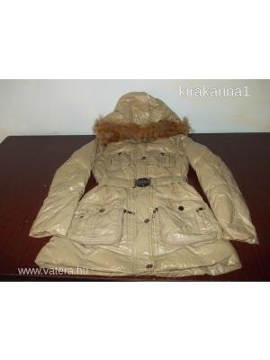 13aa0c00cf MAYO CHIX női L-es kapucnis szőrös téli kabát télikabát nagyon szép  állapotban <<