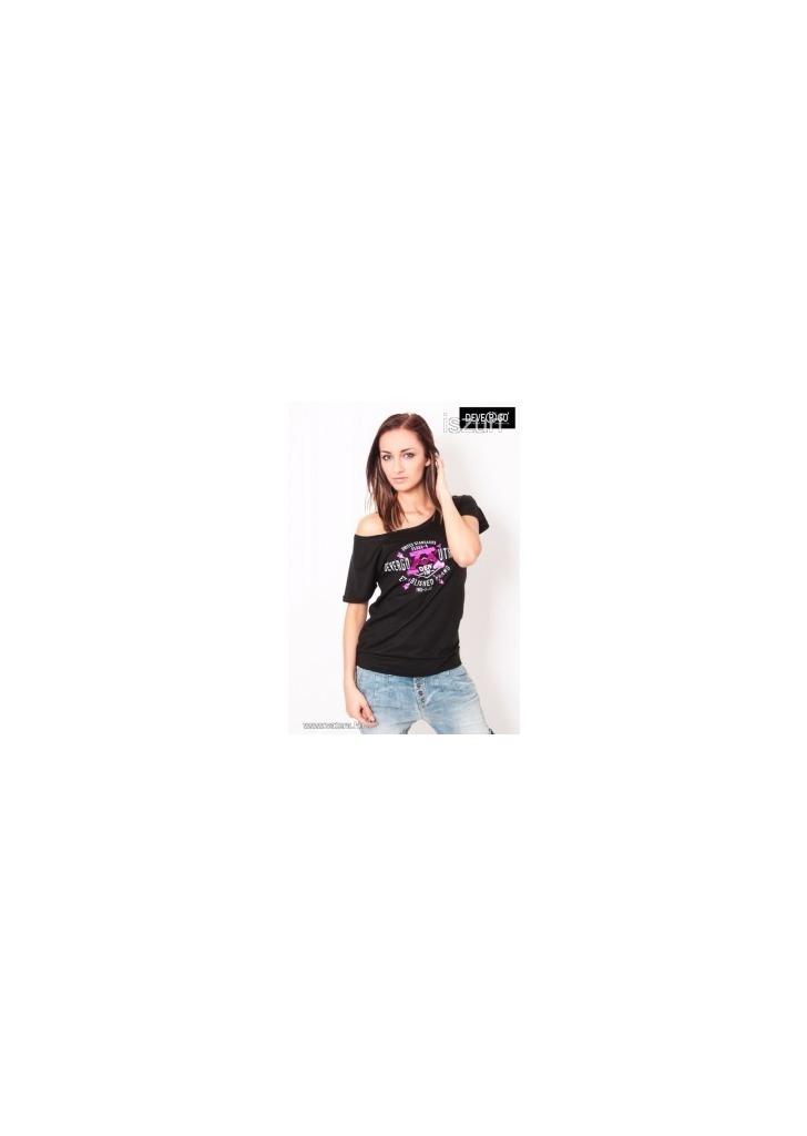 98adc0fd0c Eredeti Devergo Jeans vállra húzható női top felső fekete szürke