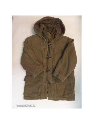 a6061d2749 128-as szőrmével bélelt kord kabát - H&M - Vatera, 3 500 Ft