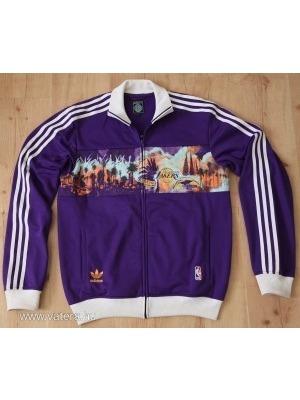1884058fc2 Los Angeles Lakers adidas melegítőfelső NBA M-es méretben << lejárt 35025