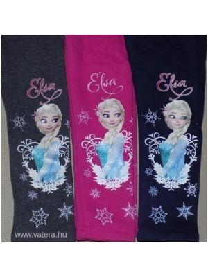 18a0180a18 Vastag téli bélelt Jégvarázs Elsa gyerek leggings nadrág 98 104 110 <<  lejárt 610113